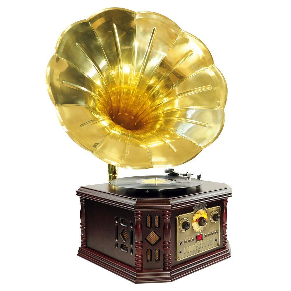 Old fashioned record player name