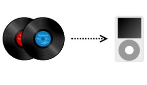 Vinyl record to MP3