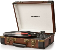 How to use a Crosley turntable