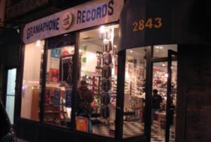 Vinyl store Chicago Gramaphone