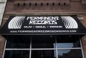 Vinyl store Chicago Permanent Records