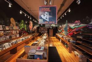Vinyl store Chicago Shuga