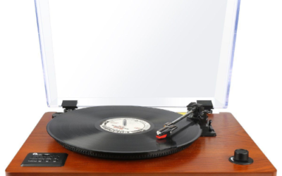 Review: 1byone Belt Driven Bluetooth Turntable