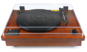 1byone Belt Driven turntable closed