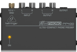 Behringer Phono preamp for turntable