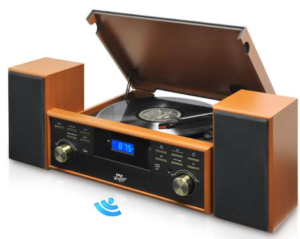 The Pyle PPTCM80BTBR turntable